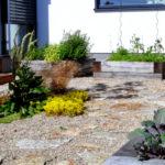 Stará Boleslav, realizace zahrady