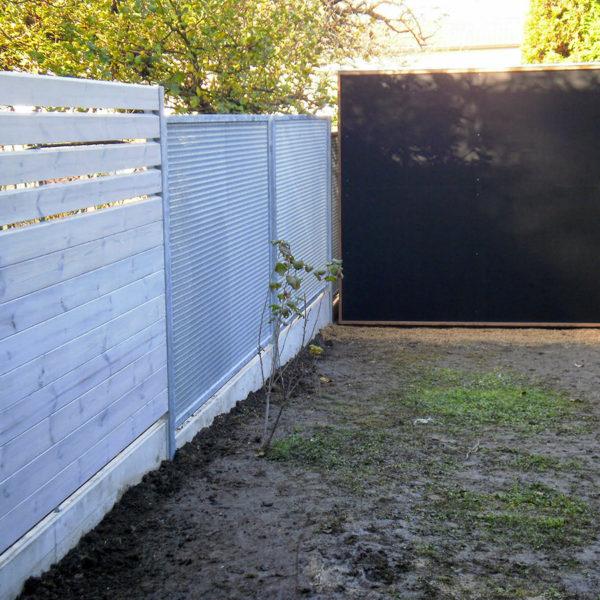 Spořilov, realizace zahrady